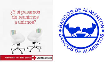 Cruz Roja Española y Banco de Alimentos